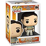 Funko Pop Movies : The 40 Year-Old Virgin - Andy Holding Oscar 3.75inch Vinyl Gift for Movies Fans Pop! Chibi
