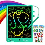 ZMLM LCD Writing Tablet for Boys - 10 Inch Drawing Board Doodle Pad Large Colorful Sketch Toy Magic Erasable Art Supplies for Kids 3-12 Year Old Toddler Girl School Birthday Game