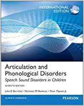 Articulation and Phonological Disorders: Speech Sound Disorders in Children: International Edition