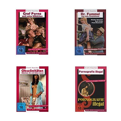 Erotik Klassiker - Sex der Siebziger (4 DVDs) Bundle