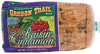 Oregon Trail Bread, Raisin Cinnamon w/ Vanilla (32 oz.) (pack of 6)