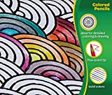 Crayola 100 Colored Pencils, Amazon Exclusive, Adult Coloring, Gift