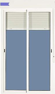 comprar comparacion Balconera Aluminio Corredera Con Persiana PVC 1500 ancho × 2185 alto 2 hojas (marco y cajón persiana en kit)