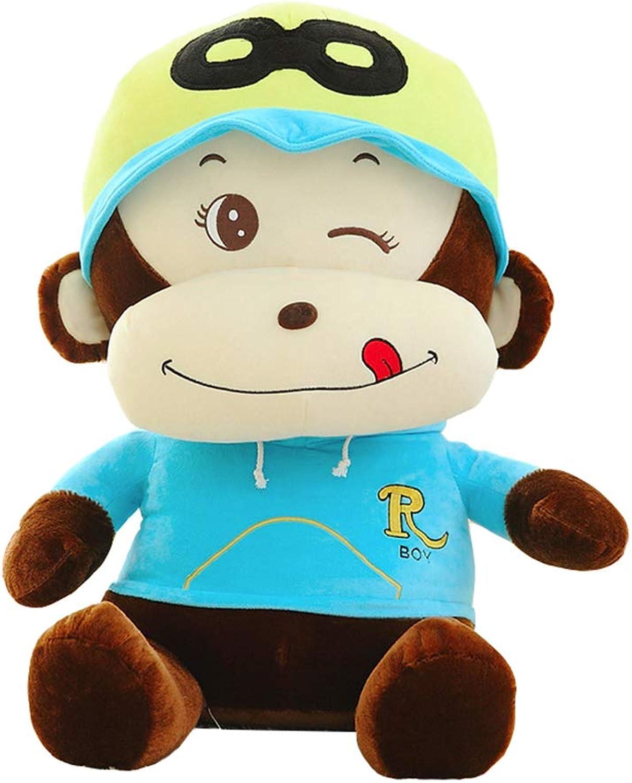 XQYPYL Scimmia Giocattoli di Pezza Cuscino Bambola Decorazione Domestica Cuscino Regali 48cm-150cm,01,90cm
