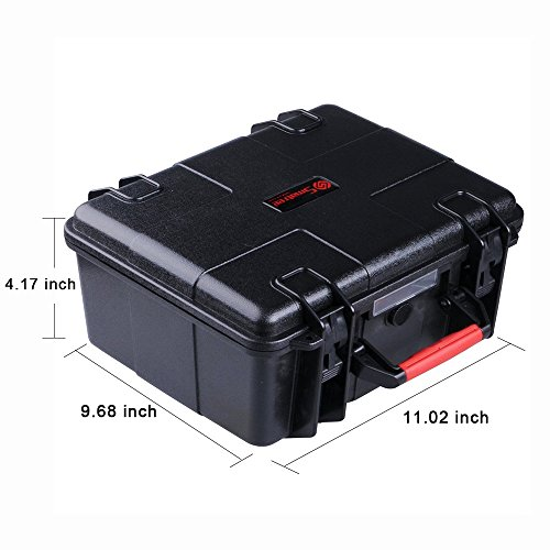 Smatree SmaCase GA500 Floaty/Water-Resist Hard Case Compatible for GoPro Hero 9,8,7,6,5,4,3 Plus, 3, 2, 1,GoPro Hero (2018),DJI Osmo Action (Camera and Accessories Not Included)