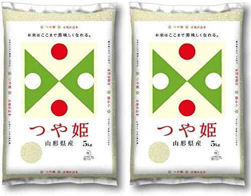 山形県産 つや姫 令和2年産 10kg (5kg×2) 無洗米 精米 お米 コメ (無洗米)