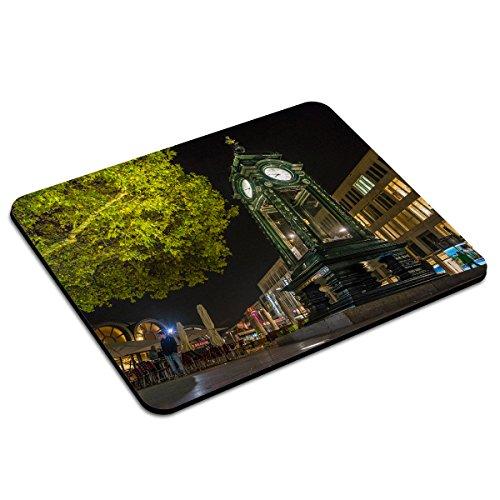 PhotoFancy - Mousepad Hannover - Städte-Mauspad mit Motiv Kröpcke-Uhr