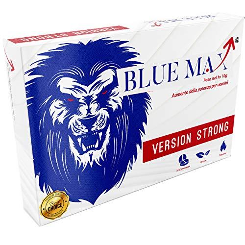 Blue Max® Strong 130 Mg Per Uomini - 100% Naturale - Senza Ricetta Medica - Senza Controindicazioni - 1000 Mg A Compressa