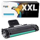 MyOffice Toner-Mero - Tóner para Samsung ML-1610D2 1610 1615 1620 1625 1650 2010 2010R 2015 2510 2570 2571 SCX-4321 4521F (Compatible con MLT-D119s), Color Negro Impresora 19S 3. 000 páginas.