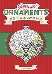 Intricate Ornaments: 45 Christmas Designs to Color is a small, fun Christmas colouring book for moms who love colouring.