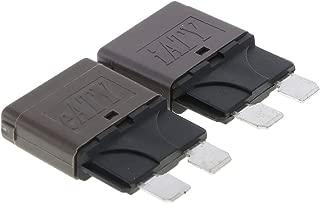 MagiDeal 5 Pi/èces Aluminium Radial Electrolytique Capacitance 400V 120UF Axial 105C