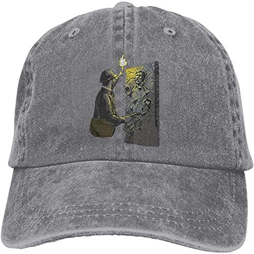 """""""N/A"""" SBLB Indiana Jones Han Solo Carbonite Moda Cool Adulto Ajustable Denim Cowboy Sombrero Casqueta ⭐"""
