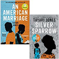 An American Marriage & Silver Sparrow By Tayari Jones 2 Books Collection Set 9124084077 Book Cover