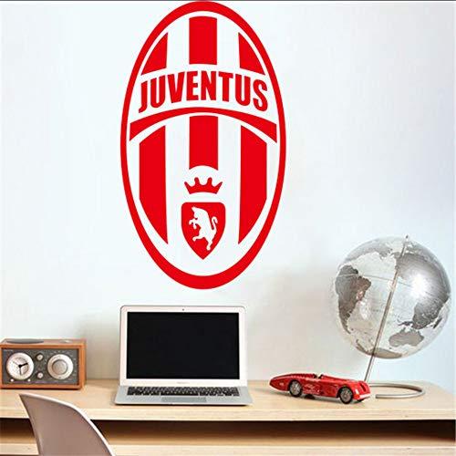 jukunlun Calcio Europa League Squadra Logo Simbolo Adesivi Murali Per Camera Dei Bambini Smontabile Casa Decalcomanie In Vinile Arte Decorazione Citazione Murale 94X57 Cm
