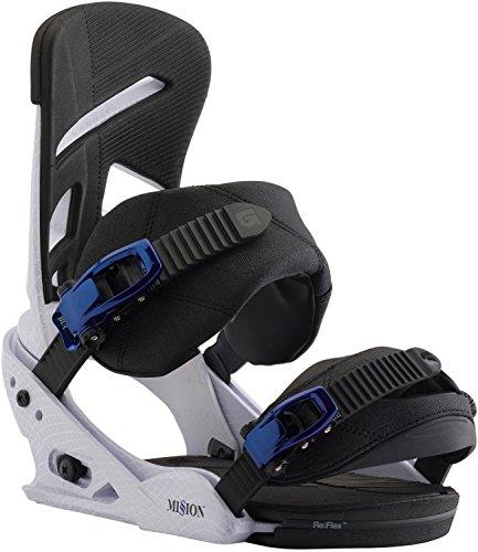 Burton Herren Custom EST Black Matte Snowboard Bindung, M
