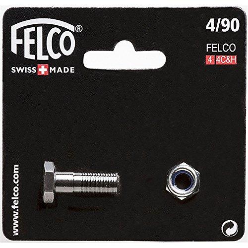 Felco Kit de réparation N°4/90 avec Boulon/écrou, Argent
