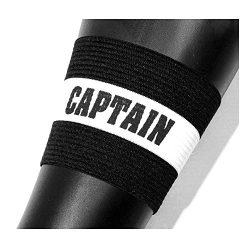 OPTIMUM Unisex-Adult Football Captains Armband-Schwarz, Erwachsene