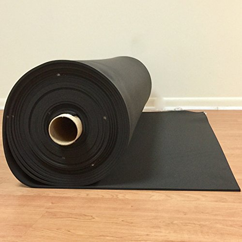 Sponge Neoprene 1/4 Thick X 54 Wide X 1 by CLEVERBRAND INC.