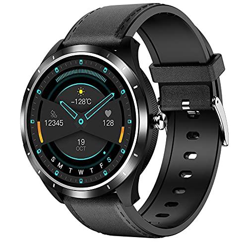 ZGZYL X3 Smart Watch Hombres con Oxígeno De Sangre PPG + ECG Tasa Cardíaca Y Monitoreo De La Presión Arterial Monitoreo De Fitness De La Mujer Reloj Deportivo A Prueba De Agua,B