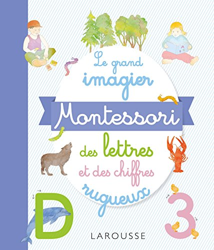 Mon grand imagier Montessori des lettres et des chiffres rugueux