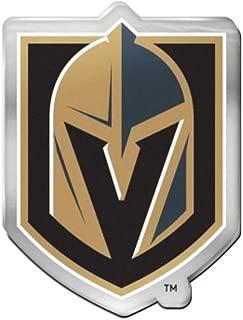 NHL Vegas Golden Knights 2.5 x 3 inch Acrylic Auto Emblem Decal