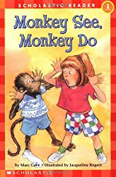 Monkey See, Monkey Do Children's level 1 reader
