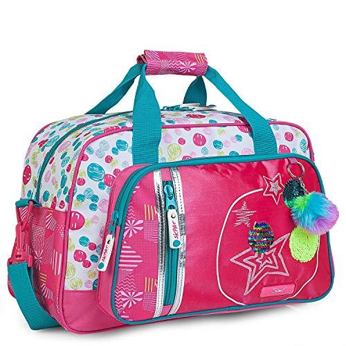 SKPAT - Mochila Escolar Infantil Acolchada y Estampada. Doble Compartimento. para Colegio o Viaje. Cómoda y Ligera. Muy Resistente Bonito Diseño. 130001