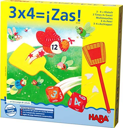 Haba 3 x 4 = ¡Zas-ESP (303109)