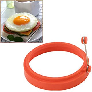 Non Stick Fried Egg Ring for Frying Eggs Transser 4PC Silicone Egg /& Pancake Rings Kitchen Cooking Tools Round Egg Cooker Maker