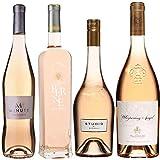 Best of Provence - Lot de 4 bouteilles - M de Minuty - Terre de Berne - Studio de Miraval - Esclan Whispering Angel - Côtes de Provence Rosé 2019 (4 * 75cl)