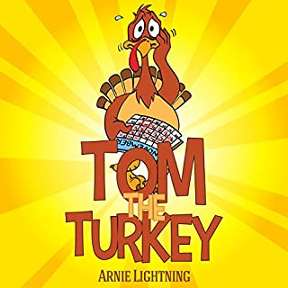 Tom the Turkey: Fun Thanksgiving Stories for Kids audiobook cover art