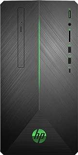 2019 HP Pavilion Gaming Desktop | AMD 2nd Gen Ryzen 5 | 32GB RAM| 512GB SSD + 1TB HDD | AMD Radeon RX 580 | WiFi | USB-C | DVD-RW | GbE LAN | Windows 10 | Include Mouse and Keyboard |