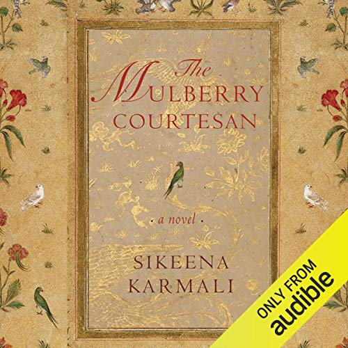 The Mulberry Courtesan audiobook cover art
