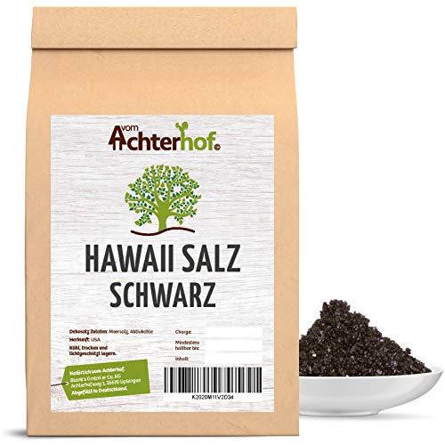 100 g Hawaii Salz schwarz Gourmetsalz natürlich vom-Achterhof