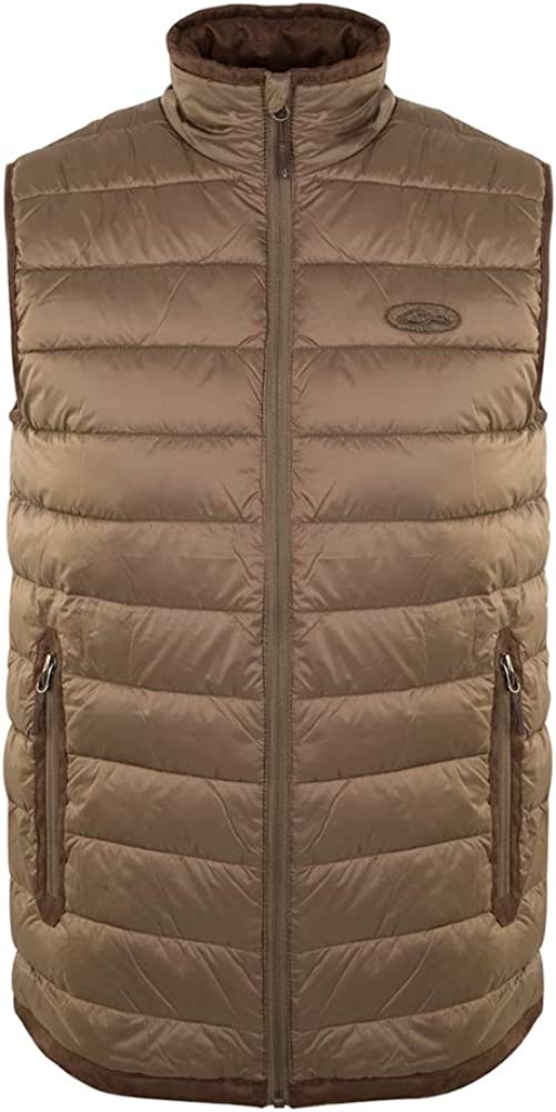 Drake Waterfowl Men's Synthetic Double Down Insulated Zipped Hunting Vest