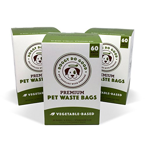 Biodegradable Poop Bags | Dog Waste Bags Unscented VegetableBased amp EcoFriendly Premium Thickness amp Leak Proof Easy Detach amp Open Supports Rescues 3Pack 180 ct