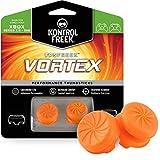 KontrolFreek FPS Freek Vortex para mando de XBOX One | Performance Thumbsticks | 1 de Gran Altura Convexa, 1 Media-Altura Cóncava | Naranja
