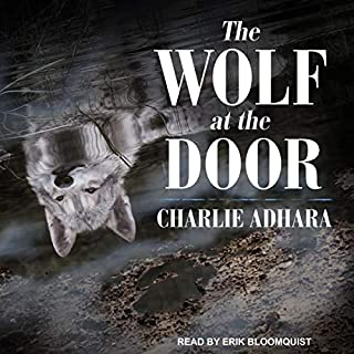The Wolf at the Door audiobook cover art