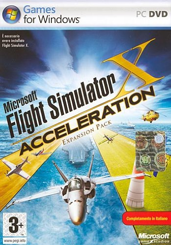 MICROSOFT FLIGHT SIMULATOR X ACCELERATION MYA00010
