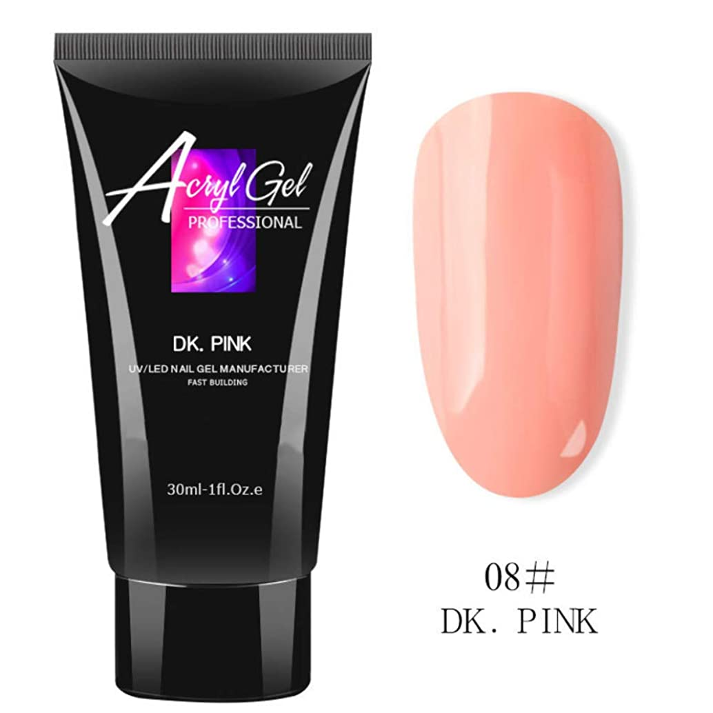 Poly Nail Kit Builder Poly Gel Nail Extension Gel Nail Enhancement Nail Thickening Tool Poly Builder UV Gel 30ml