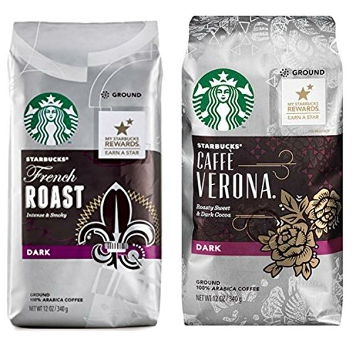 Starbucks Dark Roast Ground Coffee Variety Pack. Convenient One-Stop Shopping. Easy to Source for Ultra Popular Starbucks Blends. Journey to a Coffee Paradise Without Leaving Home.