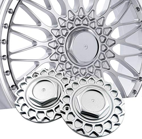 Sale SALE% OFF steel.frame.motor Max 63% OFF 4PCS 168mm Chrome Silver Wheel Caps for Center