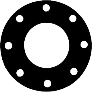 Pressure Class 150# of NJ 12 Pipe Size Neoprene Rubber Sterling Seal CFF7106.1200.062.150X10 7106 60 Durometer Full Face Gasket Pack of 10 12.75 ID 12 Pipe Size 1//16 Thick Supplied by Sur-Seal Inc 12.75 ID 1//16 Thick
