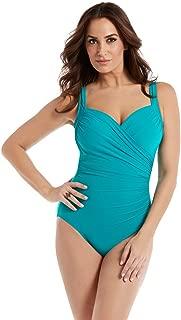 Women's Swimwear DD-Cup Solids Sanibel Sweetheart Neckline Underwire Bra One Piece Swimsuit