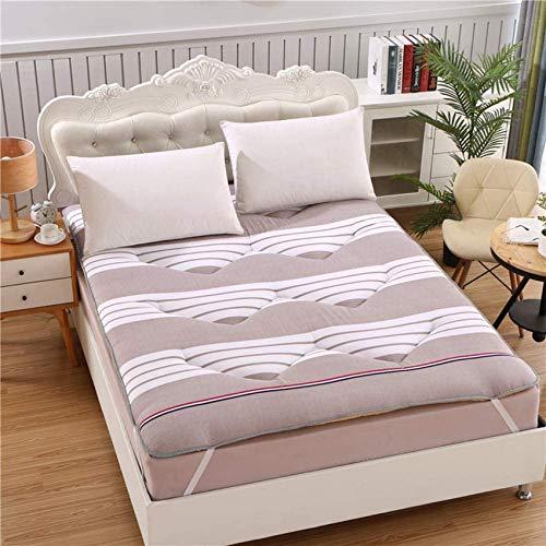YWYW Japanese Floor futon Mattress Floor Tatami Mattress Japanese Bed roll Foldable Folding Mattress Foldable Bed -h 100x200cm (39x79in)