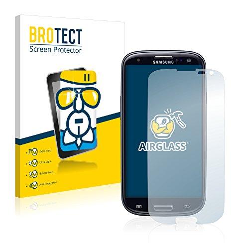 brotect Pellicola Protettiva Vetro Compatibile con Samsung Galaxy S3 Neo Schermo Protezione, Estrema Durezza 9H, Anti-Impronte, AirGlass