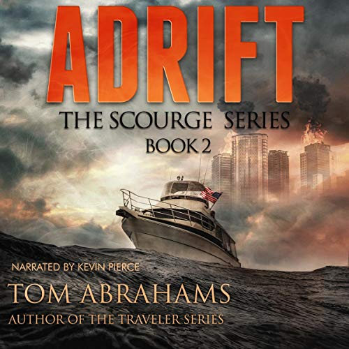 Adrift Audiobook By Tom Abrahams cover art