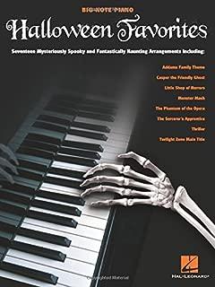 Halloween Favorites (Big-note Piano)