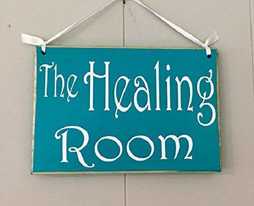 PeteGray Healing Room 20,3 x 15,2 cm in Progress Session Do Not Disturb Spa Salon 20,3 x 15,2 cm Panneau Rustique à Suspendre à Une Porte