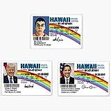 McLovin -Obama- Trump Fun ID Hawaii Drivers...